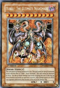 Yu-Gi-Oh Phantom Darkness Single Yubel The Ultimate Nightmare Secret Rare