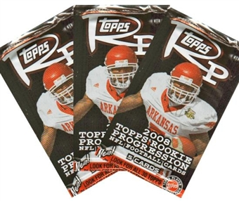 2008 Topps Rookie Progression Football Hobby Pack