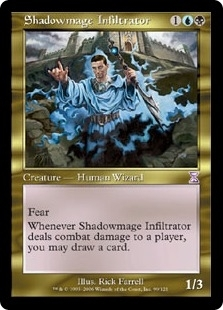 Magic the Gathering Odyssey Single Shadowmage Infiltrator - NEAR MINT (NM)