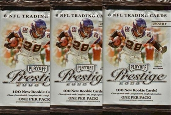 2008 Playoff Prestige Football Hobby Pack