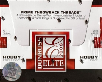 2008 Donruss Elite Football Hobby Box