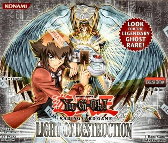 Upper Deck Yu-Gi-Oh Light of Destruction Booster Box