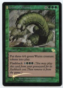 Magic the Gathering Judgment Single Crush of Wurms Foil