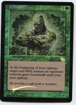 Magic the Gathering Judgment Single Erhnam Djinn Foil