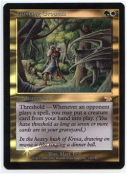 Magic the Gathering Judgment Single Hunting Grounds Foil