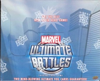Upper Deck Marvel Ultimate Battles Starter Box