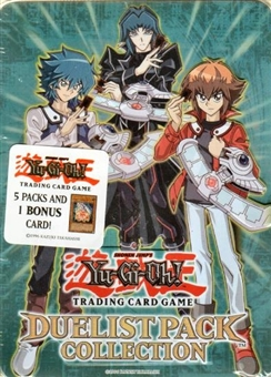 Upper Deck Yu-Gi-Oh 2008 Duelist Pack Collection Tin