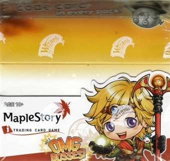 WOTC Maple Story Series 2 OMG Bosses Booster Box