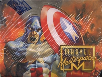 Marvel Masterpieces Hobby Box (1996 Fleer)