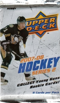 2007/08 Upper Deck Series 2 Hockey Hobby Pack