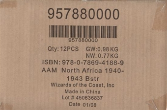 Axis & Allies Miniatures North Africa 1940-1943 Booster Case (12 ct.)
