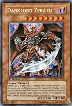 Yu-Gi-Oh Phantom Darkness Single Darklord Zerato Secret Rare