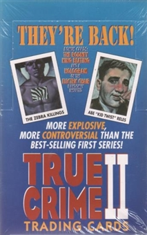 True Crime Series 2 Hobby Box (1992 Eclipse)