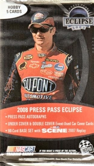 2008 Press Pass Eclipse Racing Hobby Pack
