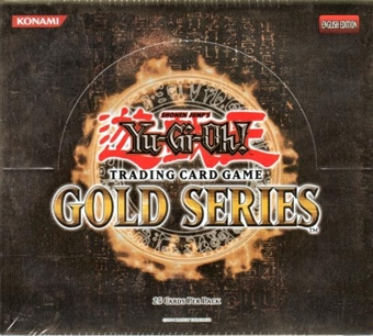 Upper Deck Yu-Gi-Oh Gold Series Booster Box