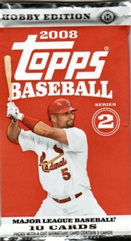 2008 Topps Series 2 Baseball Hobby Pack