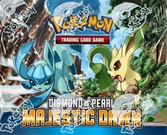 Pokemon Diamond & Pearl Majestic Dawn Theme Deck Box