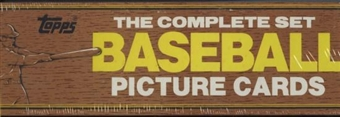 1982 Topps Baseball Factory Set