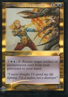 Magic the Gathering Invasion Single Hanna, Ship's Navigator Foil