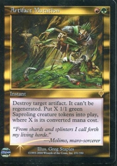 Magic the Gathering Invasion Single Artifact Mutation - NEAR MINT (NM)