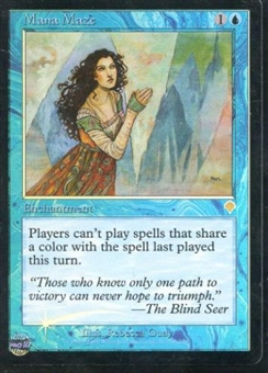 Magic the Gathering Invasion Single Mana Maze - NEAR MINT (NM)