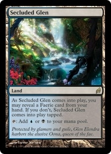 Magic the Gathering Lorwyn Single Secluded Glen - NEAR MINT (NM)