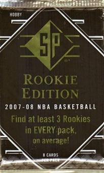 2007/08 Upper Deck SP Rookie Edition Basketball Hobby Pack