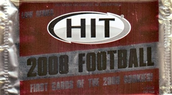 2008 Sage Hit Football Low Series Hobby Pack
