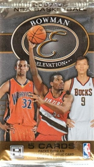 2007/08 Bowman Elevation Basketball Hobby Pack