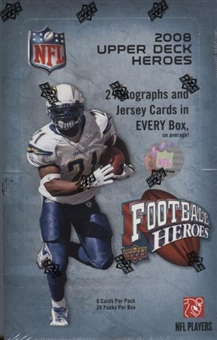 2008 Upper Deck Heroes Football Hobby Box