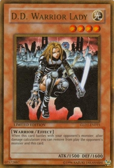 Yu-Gi-Oh Gold Series 1 Single D.D. Warrior Lady Ultra Rare