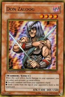 Yu-Gi-Oh Gold Series 1 Single Don Zaloog Ultra Rare