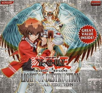 Upper Deck Yu-Gi-Oh Light of Destruction Special Edition Box
