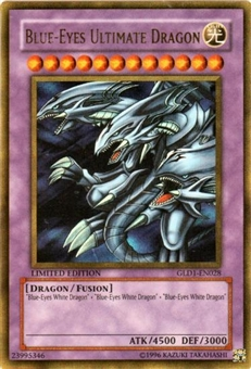 Yu-Gi-Oh Gold Series 1 Single Blue-Eyes Ultimate Dragon Ultra Rare