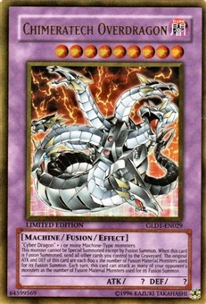 Yu-Gi-Oh Gold Series 1 Single Chimeratech Overdragon Ultra Rare