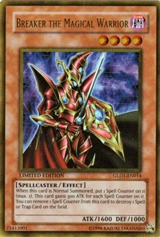 Yu-Gi-Oh Gold Series 1 Single Breaker the Magical Warrior Ultra Rare