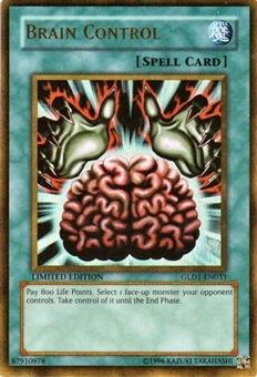 Yu-Gi-Oh Gold Series 1 Single Brain Control Ultra Rare