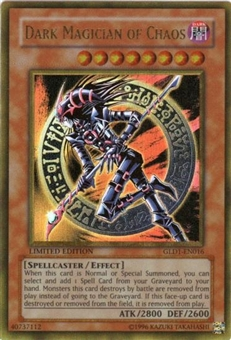 Yu-Gi-Oh Gold Series 1 Single Dark Magician of Chaos Ultra Rare