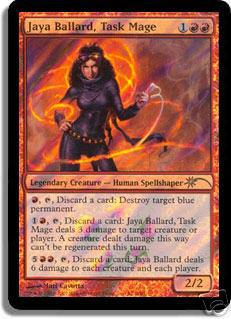 Magic the Gathering Promotional Single Jaya Ballard, Task Mage Foil (Star)
