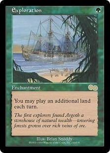 Magic the Gathering Urza's Saga Single Exploration UNPLAYED (NM/MT)