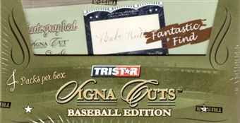 2008 TriStar Signa Cuts Baseball Hobby Box