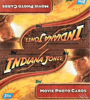 Indiana Jones & the Kingdom of the Crystal Skull Hobby Box (2008 Topps)