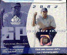 2002 Upper Deck SP Game Used Golf Hobby Box