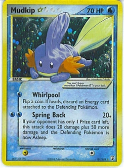 Pokemon Team Rocket Returns Single Mudkip 107/109 - SLIGHT PLAY (SP)