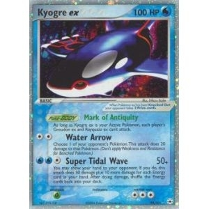 Pokemon Hidden Legends Single Kyogre ex 94/101