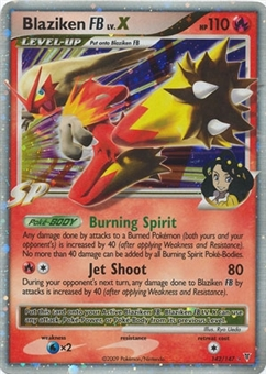 Pokemon Supreme Victors Single Blaziken FB lv. X 142/147