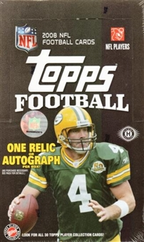2008 Topps Football Hobby Box