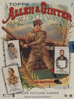 2008 Topps Allen & Ginter Baseball Hobby Box