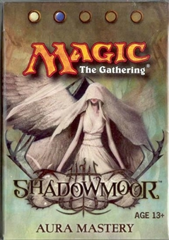 Magic the Gathering Shadowmoor Precon Aura Mastery Theme Deck