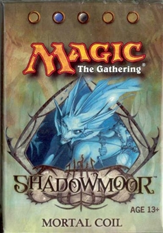 Magic the Gathering Shadowmoor Precon Mortal Coil Theme Deck